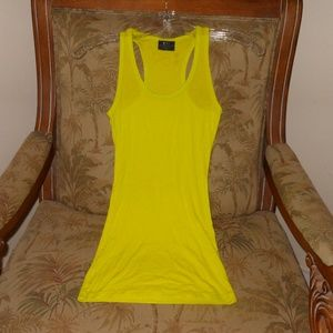 SPLITS59 Neon Ribbed Tank!!  Small